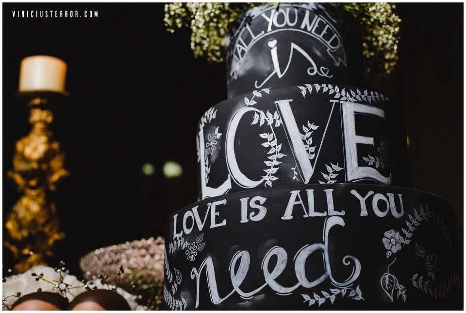 ideias criativas para o bolo de casamento