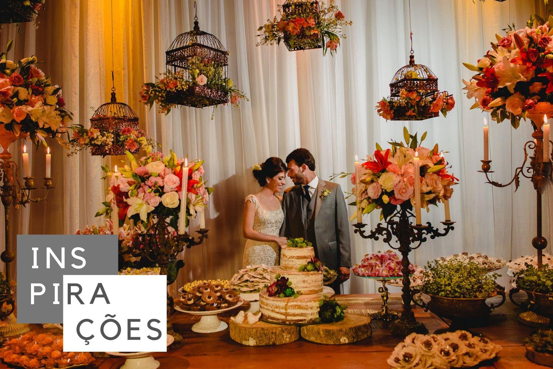mais de cem modelos de mesa de bolo com ideias incriveis para a decoração do seu casamento