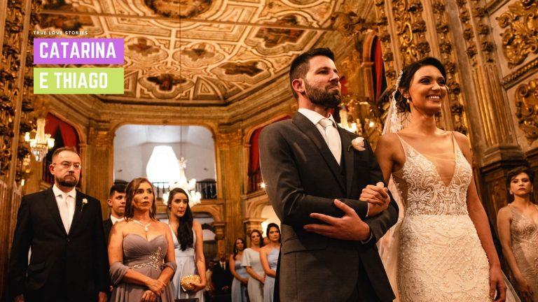 fotos de um casamento na igreja do pilar em ouro preto